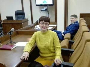 Перед началом судебного заседания в Белгородском облсуде. 21 декабря 2016 года